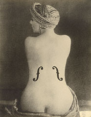 Le Violon D'ingres Man Ray