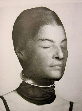 Juliet Browner in Wrapped Scarf by Man Ray 1945