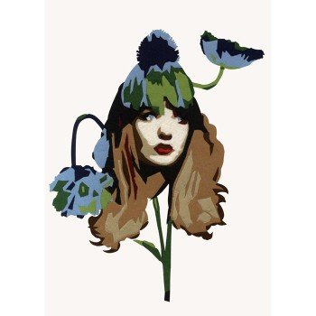 Blooming Amapola - customised print £116 By Ximena Escobar