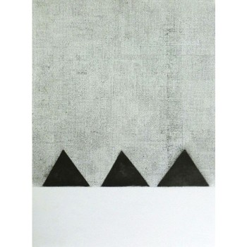 Penal Colony III - etching print £250 By Julia Rodrigues